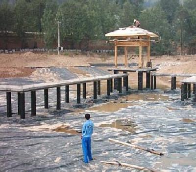 人工湖防水堵漏