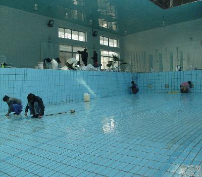 游泳池防水施工-堵漏补漏施工