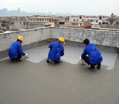 楼顶防水施工-堵漏补漏施工