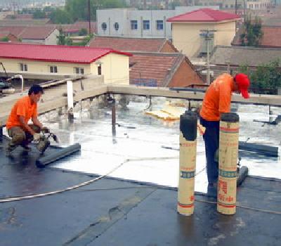 屋顶防水施工-堵漏补漏施工